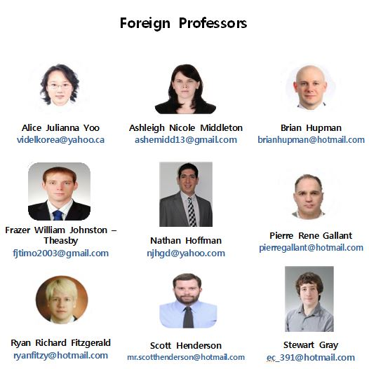 Foreign Professors