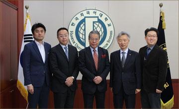 일본 교토외국어대학교 관계자 본교 내방